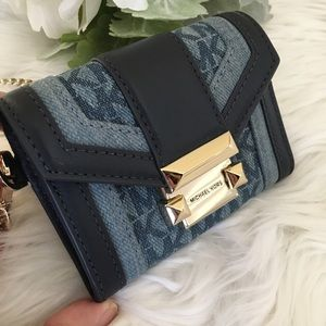 Michael Kors Whitney small coin carryall wallet